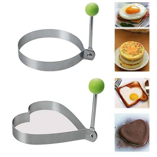 Egg Cooking Mould Fried Egg Pancake Shaper Omelette Mold Pancake Maker Nonstick Cooking Tool Kitchen Accessories Gadget Egg Tool