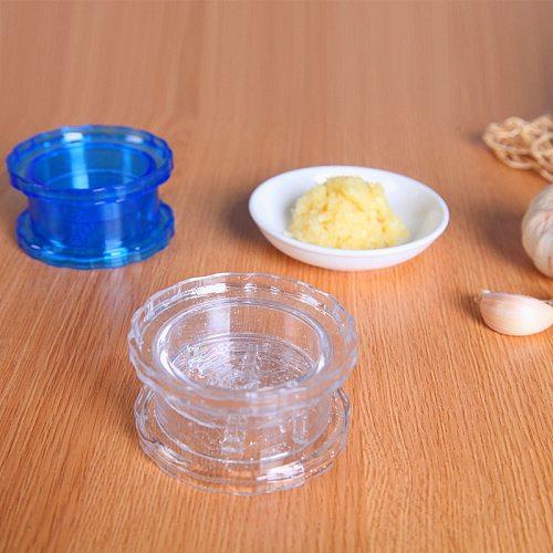 1PC Multi-Usage PP Plastic Garlic Press Peeler Crusher Masher Twist Kitchen Useful Tool Garlic Presses Garlic Crusher