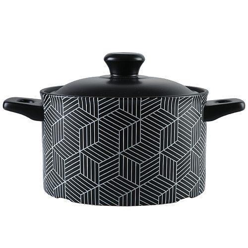 Casserole/Stewpot Stone Pot Taji Ceramic High Temperature Resistant Dry Burning Non-Cracking Milk Pot Soup Pot Claypot Rice
