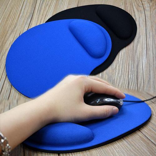 1pc New Small Feet Shape Mouse Pad Support Wrist Comfort Mat Soild Color Computer Games Mousepad Creative EVA Soft Mouse Pad