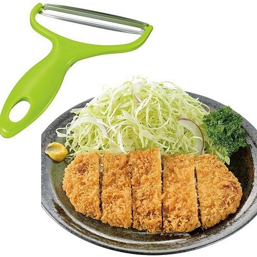 Cabbage Wide Mouth Fruit Peeler Knife Kitchen Tools Salad Vegetables Peelers Kitchen Accessories