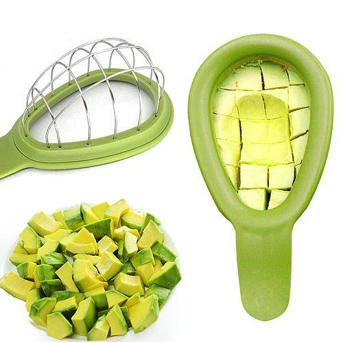 Avocado Cutter Vegetables Mango Slicer Melon Fruits Cutter Cuber Kitchen Hand Tool Gadgets Dice Cube New Avocado Tool Cutter