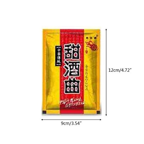 5 Packs Chinese Sweet Rice Wine Fermentation Starter Leaven Powder Home Brewing GXMA