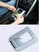 For Land Rover Discovery Sport 2015 2016 2017 2018 ABS Chrome Gear Panel Molding Garnish Frame Cover Trim 1 Piec