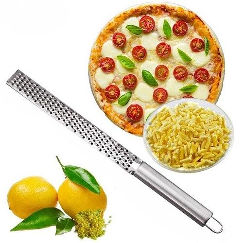 New HOT Stainless Lemon Cheese Vegetable Zester Grater Peeler Slicer Kitchen Tool Gadgets Fruit Vegetable Chopper