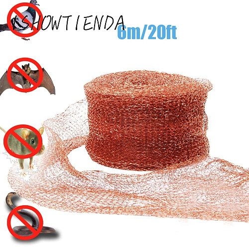 Pco Copper Mesh For Distillation 6m 20ft Mouse Trap Corrugated Mesh For Distillation Reflux Moonshine Brewing Pest Control