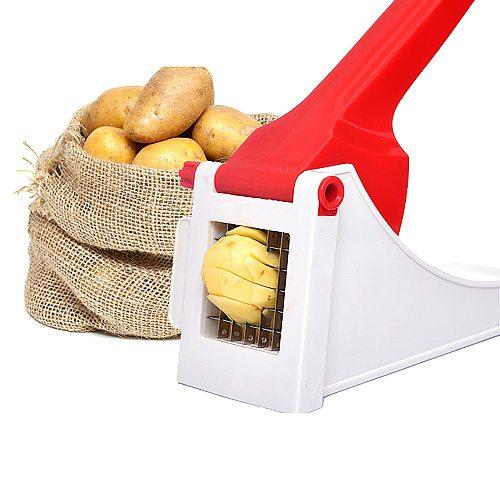 Chips Maker Potato Chipper Potato Veggie Chopper Best For French Fries Apple Slicers Potato Chips Waffle Maker Vegetable Cutter
