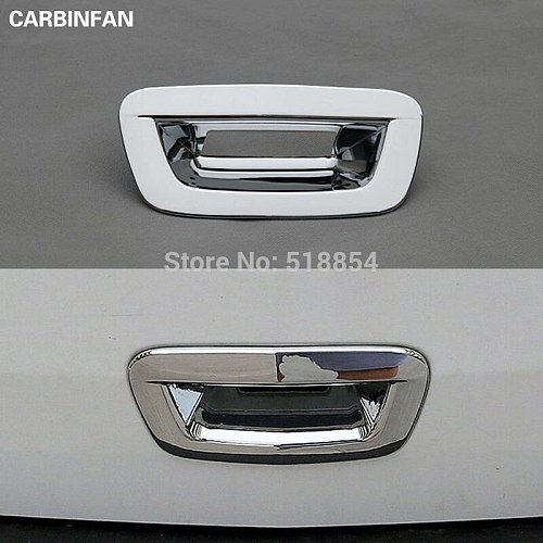 FIT FOR 2013 2014 2015 2016 CHEVROLET TRAX TRACKER CHROME REAR TRUNK BOOT DOOR LID COVER GARNISH TRIM TAILGATE STRIP ACCESSORIES