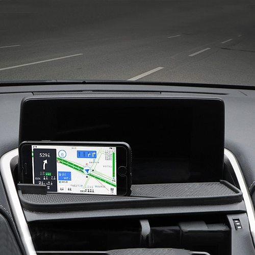 CarManGo For Lexus NX 200 300 300h 2018-2020 Car Accessories Dashboard Mat Anti-slip Phone Holder Pad Carpet Decoration