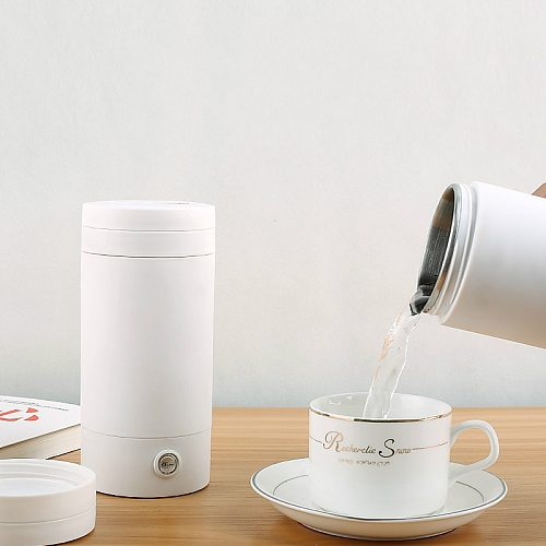 220V 110V Travel electric kettle portable kettle heating water cup insulation integrated small mini dormitory students