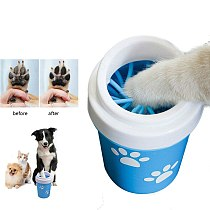 Dog Paw Cleaner Cup for Small Large Dogs Pet Feet Washer Foot Wash Tool Portable Pet Cat Dirty Soft Silicone