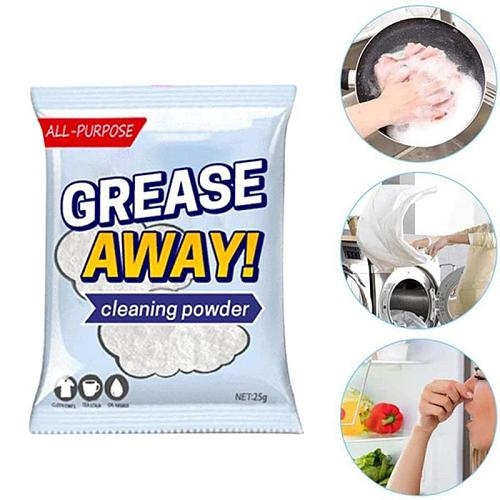 Kitchen Pot Cleaner Dirt Rust Remover Charred Pot Stains Cleanning Cleaner Steel Wok Powder Grease Multi-Purpose