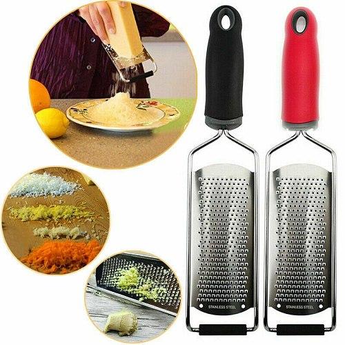 Stainless Lemon Cheese Vegetable Zester Grater Peeler Slicer Kitchen Tool Gadgets Fruit Vegetable Chopper
