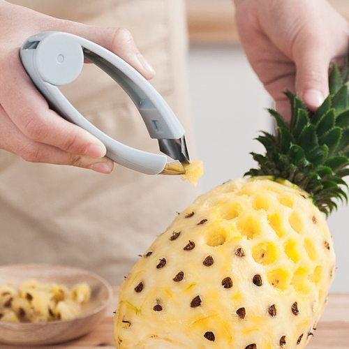Strawberry Steel Pineapple Eye Peeler Fruit and vegetable Practical Seed Remover Clip Fruit Tools Kitchen Gadgets