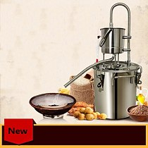 10/20L Domestic Small Brewers Steaming Wine Maker Pure Water Machine Alcohol Distiller Whisky Liquor Equipment Brandy Machine
