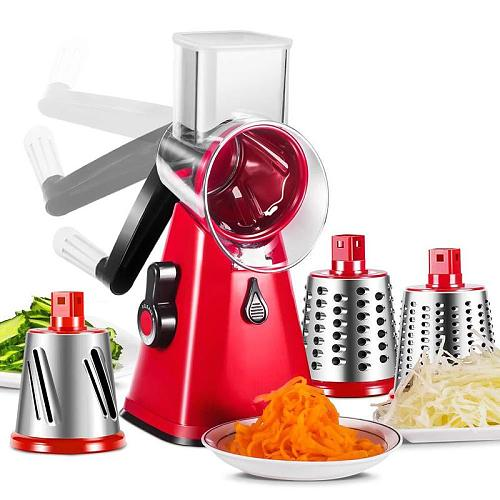Kitchen Gadgets Accessories Multifuncional Mandoline Slicer Cutter Chopper and Grater 2020 Newest Manual Vegetable Cutter Home