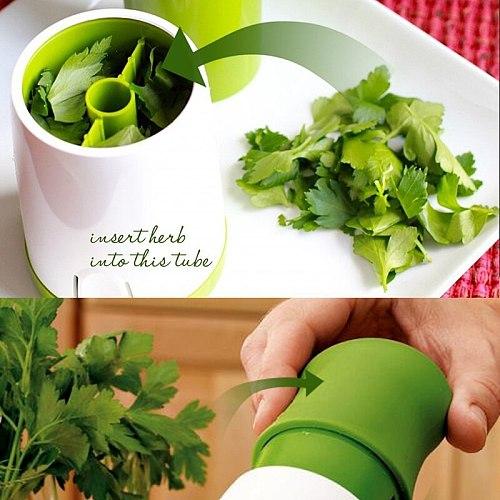 Garden Kitchen Herb Spice Grinder Grater Mill Shredder Chopper Cheese Vegetable