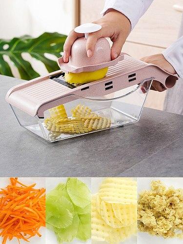 Kitchen Multi-Functional Chopping Artifact Household Slice Shredded Potatoes Carrot Grater Grater Chopper