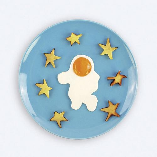 Astronaut Shape Silicone Mold Fry Egg Frame Ring Kitchen Baking Tool Fried Eggs Shaper Omelette Mould