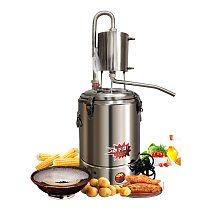 220V Household Moonshine Still Electric heating automatic liquor steamer intelligent liquor making dew machine distillation