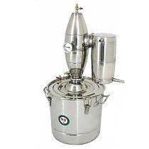 Free Shipping 70/50/30/20L Wine Hydrolat Stainless Steel Wine Brewing Distiller Alcohol Distillation Bar/baijiu whisky Maker