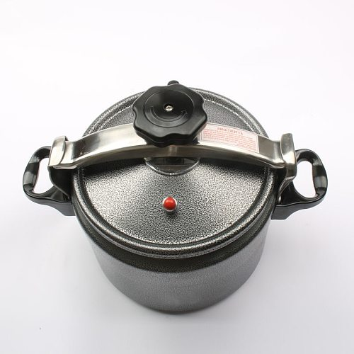 Aluminum Explosion-Proof Pressure Cooker High Elevation Pot Outdoor Camping Pressure Cooker 3L/4L