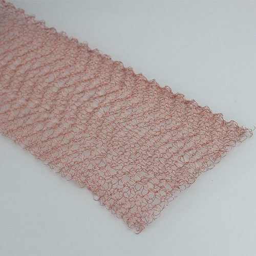 1-20 Meters 100mm Width Corrugated Copper Mesh For Distillation Reflux Moonshine Brewing Pest Control