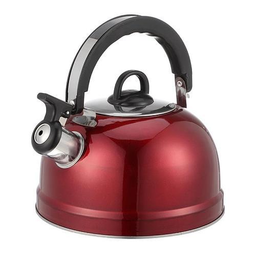 1Pc Thickened 1.2L Stainless Steel Teakettle Household Boil Water Kettle Sounding Kettle