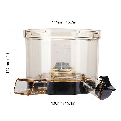 Vegetable Tool Juicer Parts Chamber Cup with Capacity Scale Replacement Spare Parts Fit for HU600 Kitchen Goods