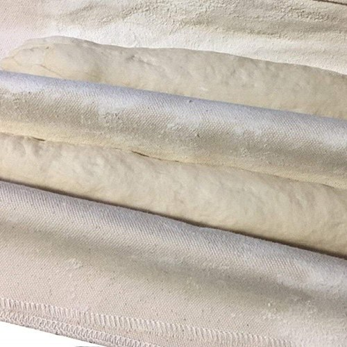 Natural Clean Linen Fermented Cloth Dough Bakers Pans Proving Bread Baguette Flax Cloth Baking Mat Baking Pastry Kitchen Tools