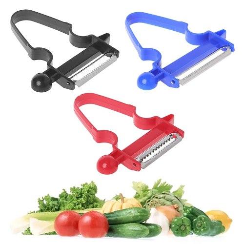 Professional Stainless Steel Magic Trio Peeler Vegetable Fruit Julienne Slicer Shredder Cutter