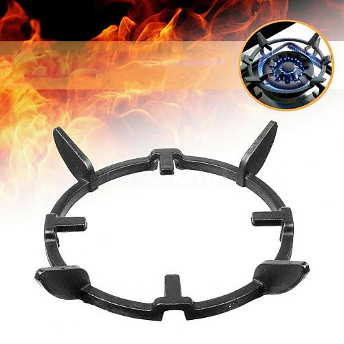 Wok Stand Stable Non Slip Iron Cast Iron Wok Ring for Microwave Ovens