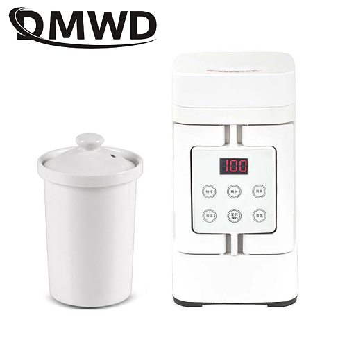 Electric Kettle Travel Hot Water Heating Boiler Heater Soup Stew Slow Cooker Portable Thermal Health Pot Porridge Cooking Cup EU