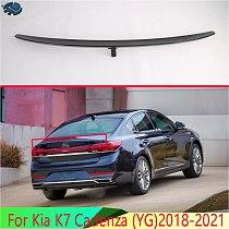 For Kia K7 Cadenza (YG)2018-2021 Carbon Fiber Style Side Rear Window Spoiler Cover Trim Molding Garnish Bezel Styling