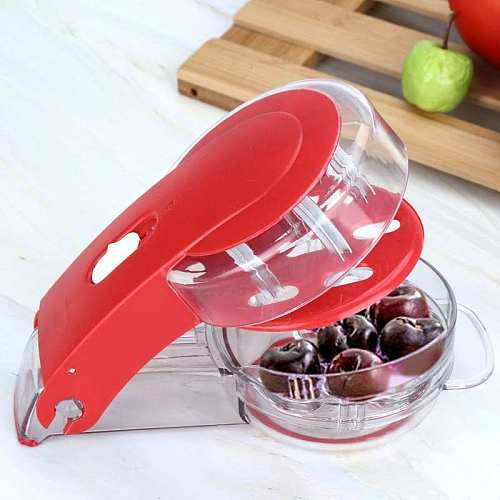 Kitchen Gadgets Cheery Cherries Pitter Seed Removing Tool Home Office Travel Fruit Stone Extractor Vegetable Fruit Potato