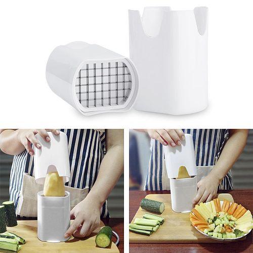 Cutting strip Vegetable Potato Slicer Cutter French Fry Cutter Chopper Chips Making Tool Potato Cutting Kitchen Gadgets