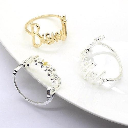 42MM Alloy Metal Napkin Rings for Wedding Table Decoration Napkin Holder Servilletero Wedding Towel Rings Dinner Table