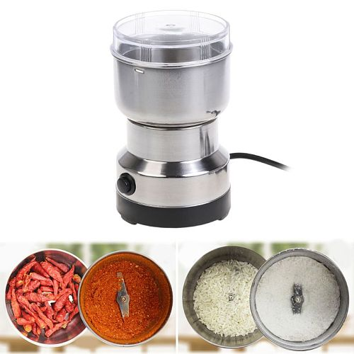 1PC  Electric Coffee Grinder Coffee Grinder Stainless Electric Herbs/Spices/Nuts/Grains/Coffee Bean Grinding
