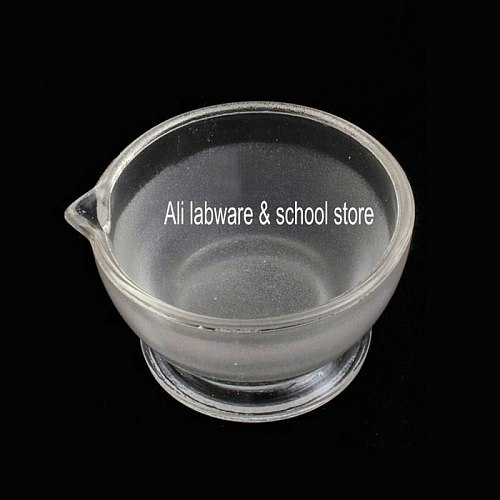 1piece/lot lab Diameter 60mm to 180mm Glass mortar and pestle