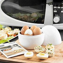 Kitchen Eggs Steamer Chicken Shaped Microwave Boiler Cooker Novelty Kitchen Cooking Appliances Steamer Home Tool