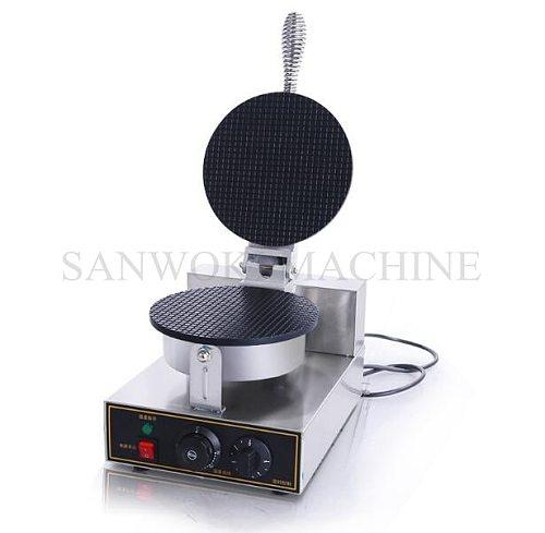 110V/220V Commercial ice cream cone waffle maker machine ;Mini Egg roll machine