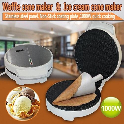 egg roll machine ice cream reel machine / ice cream machine / breakfast machine children home commercial egg waffle maker