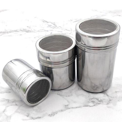 Diam Steel Powder Sprinkle Extinguishers Tank Gauze Bucket Cocoa Powder Cinnamon Powder Dusting Cans