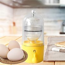 Magical Egg Tool Egg Scrambler Shaker Whisk Hand Powered Golden Egg Maker with Slicer Cutter Egg Yolk White Mixer Kitchen Gadget