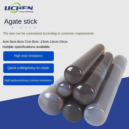Natural agate mortar stick 4cm60mm80mm100mm mortar matching grinding pestle medicine mortar pestle