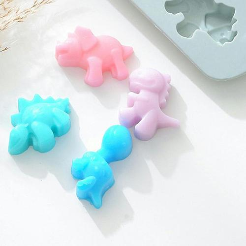 Even Silicone Dinosaur Silicone Mold Chocolate Ice Cube Cream Cake Diy Making Tool Kitchen Accessories Gadget Handicrafts Moulds