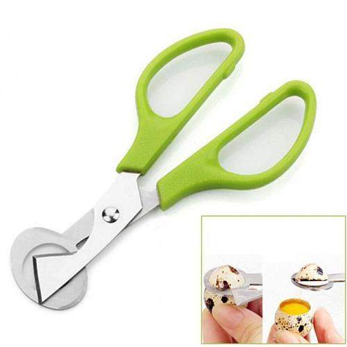 1/2Home Quail Egg Scissors Cracker Opener Cigar Cutter Stainless Steel Tools fas egg beater  kitchen WALK KONW