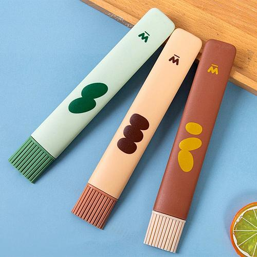Removable Silicone Oil Brush Multifunctional Food Grade Barbecue Oil Brush Sauce Brush Kitchen Cooking Brush