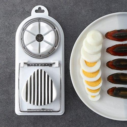 Japanese style multifunctional egg cutter Household egg slicer Fancy split egg Manual Songhua Egg Slicer Kitchen egg tools
