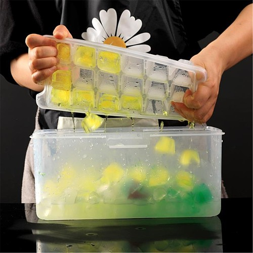Multi-layer Ice Tray Plastic Ice Making Mold Creative Household Summer Refrigera #3